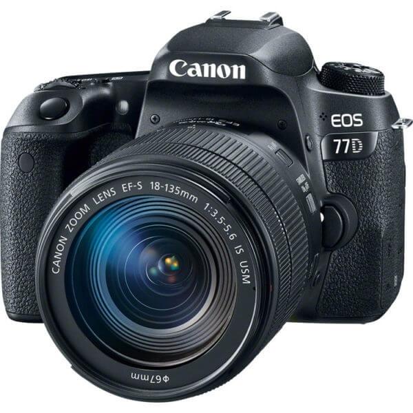 Canon EOS 77D Kit 18-135mm