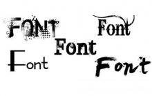 فونت(font)